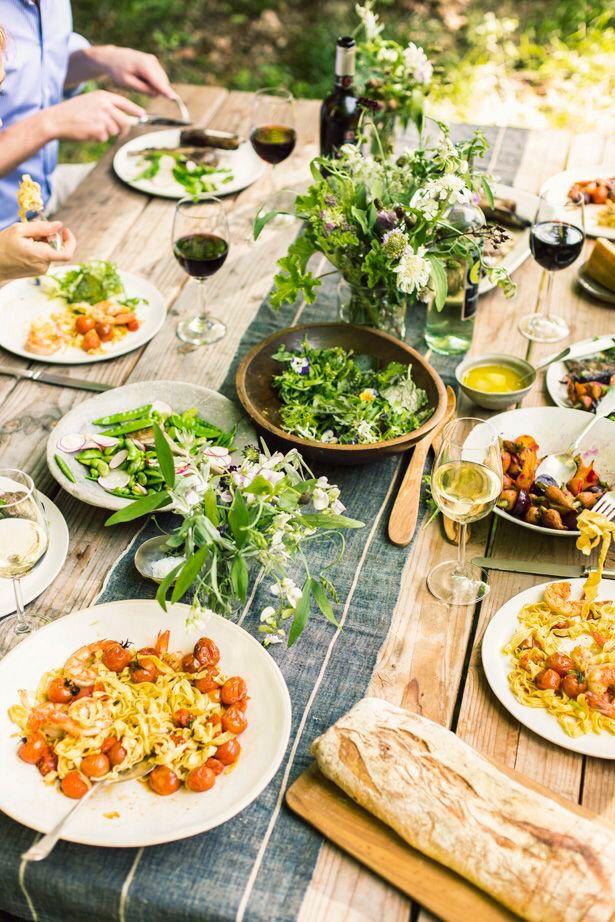 65 besten gatherings bilder auf pinterest dinner partys - Gartenparty essen ...