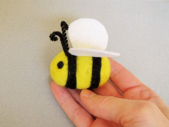 Bumblebee Decoration Bumblebee toy Waldorf by ModernSimpleBaby