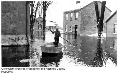 Flood 1936 BELLEVILLE, ONTARIO