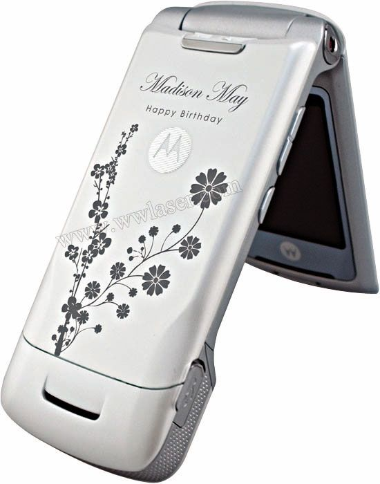 Laser marking machine--phone marking 2