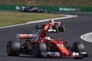 Motorsport wrap: Vettel fights through steering issue to win in Hungary  Vettel won at the Hungaroring despite suffering a steering issue  Ferraris Sebastian Vettel now leads Formula 1 standings by 14 points; Lucas di Grassi beats Sébastien Buemi to take Formula E title  Sebastian Vettel fought through a steering issue that plagued his car for the entire Hungarian Grand Prix to convert his dominating pole position into a win.  TheFerrari driver had to contend with an misaligned steering…