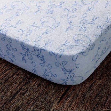Fundas de colchón Venezia. Fundas de colchón Venezia Rizo elástico de Cotopur. Rizo: 100% algodón. Peso: 185% g/m2 Algodón Natural Adaptable/ Stretchable Cremallera en L / L-Shaped Zipper. Colores: Beige, Azul y Blanco