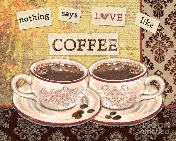 Кофе Love-jp3592 печати Жан Plout