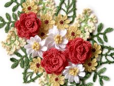 free crochet bouquet pattern at http://www.mypicot.com/beta/crochet_patterns_bouquets.html