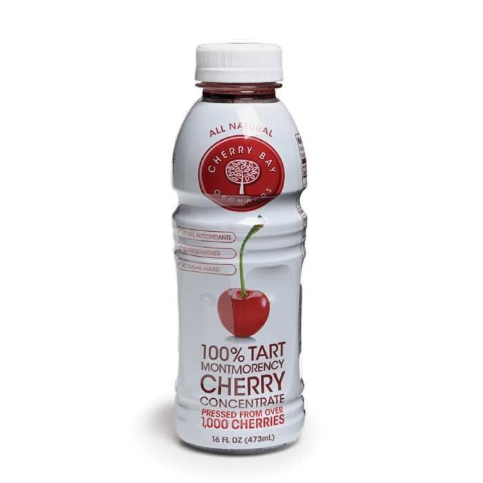 The pressed juice of 1,000 tart Montmorency cherries goes into each 16-ounce bottle of this delightfully flavorful concentrate. Product of Traverse City, Michigan.