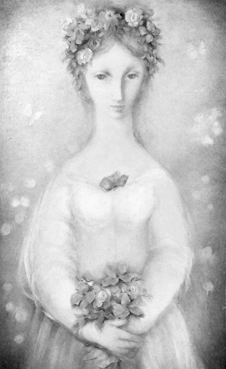 Ludmila Jiřincová , litografie