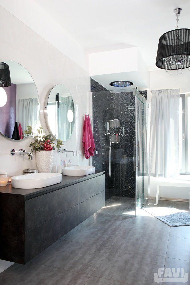 Moderní koupelny inspirace - Bydlení majitelky Il Bagno | Favi.cz