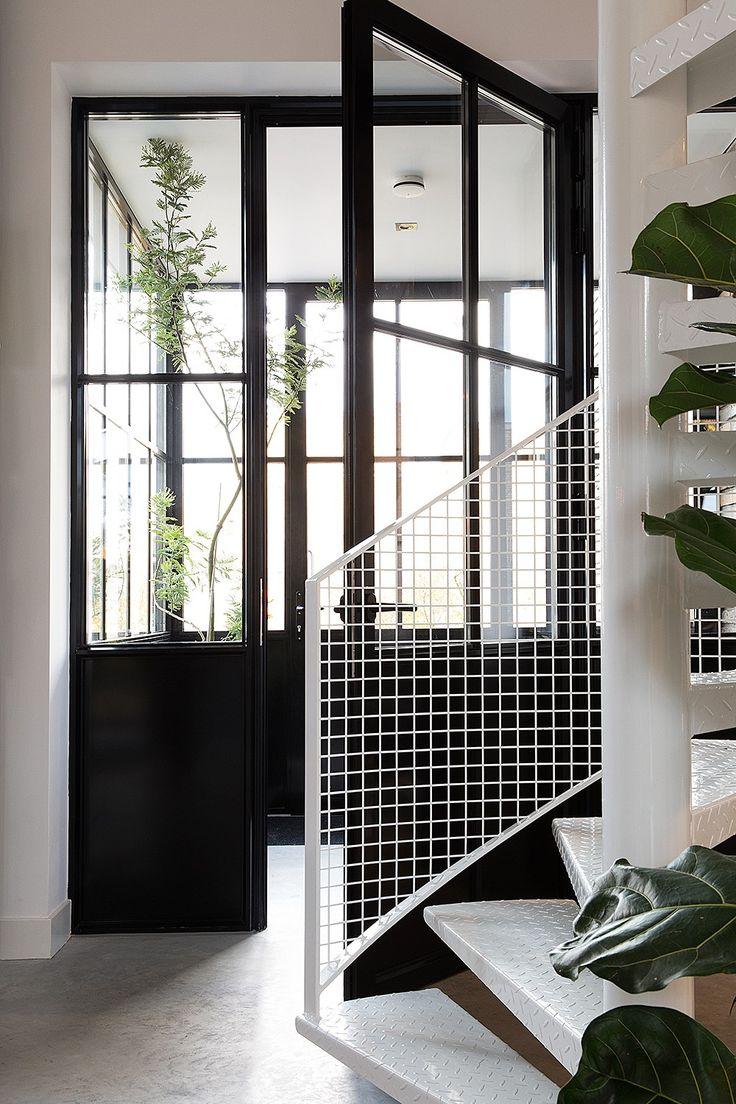 1000  images about grijze, zwarte ramen, deuren en kozijnen on ...