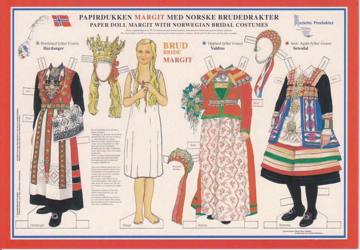 Norway Paper Dolls 002 - author Carmen Amato