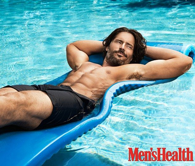 Joe Manganiello from True Blood. You're welcome. (U.S. Men's Health July/ August issue)
