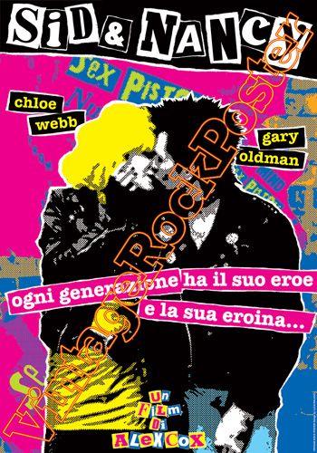 Cod. 408  SID & NANCY  Director: Alex Cox  Cast: Gary Oldman, Chloe Webb, Courtney Love  Year : 1987  #sexpistols #sidvicious #punk #musicalmovie #sex&drugs