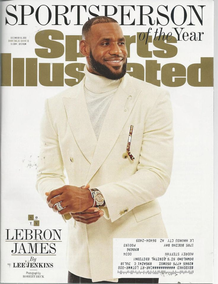 LeBron James Basketball Sports llustrated Magazine December 19 2016 #doesnotapply