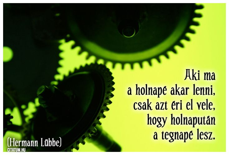 Hermann Lübbe #idézet
