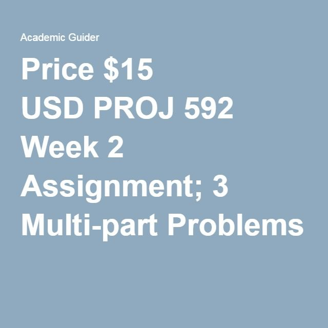 proj 592 Proj 592project cost and schedule control week 5 dq and assignment week 5 dq 1 week 5: project monitoring and control - discussion earned value calculation (graded) this week we are introduced to earned value techniques.