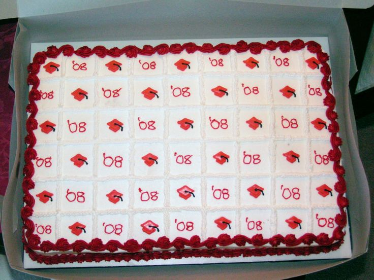 Homemade Graduation Sheet Cakes 172 best images...
