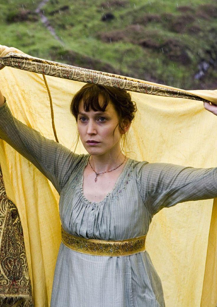 Hattie Morahan as Elinor Dashwood inSense and Sensibility (TV Mini-Series, 2008).