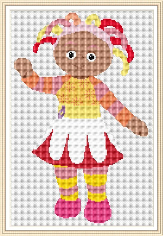 Knitting Pattern For Upsy Daisy : 16 best images about Cross stitch on Pinterest Home, Perler bead patterns a...