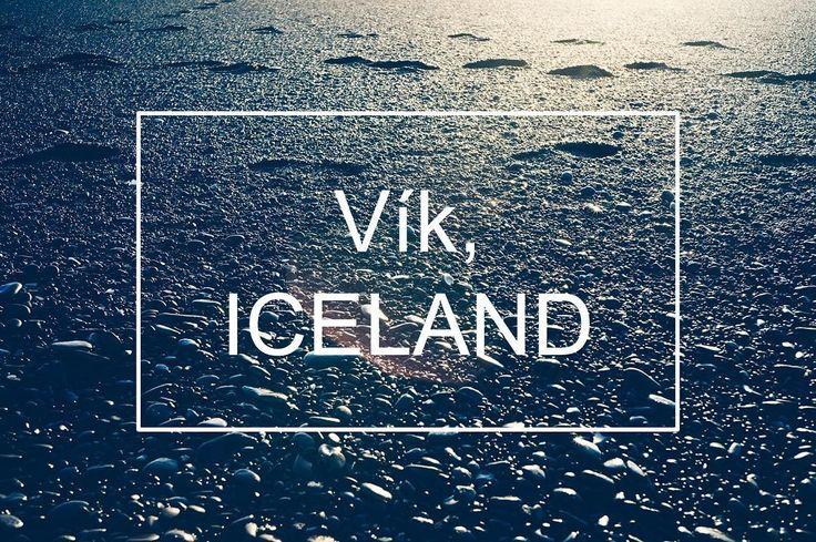 #Vík #Iceland #비크 #아이슬란드 #주상절리 #오로라탐험 #겨울여행 #여행스타그램 #검은돌 #바다