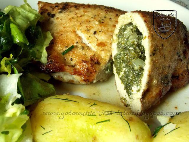 Gotowanie jest łatwe: Schab nadziewany szpinakiem