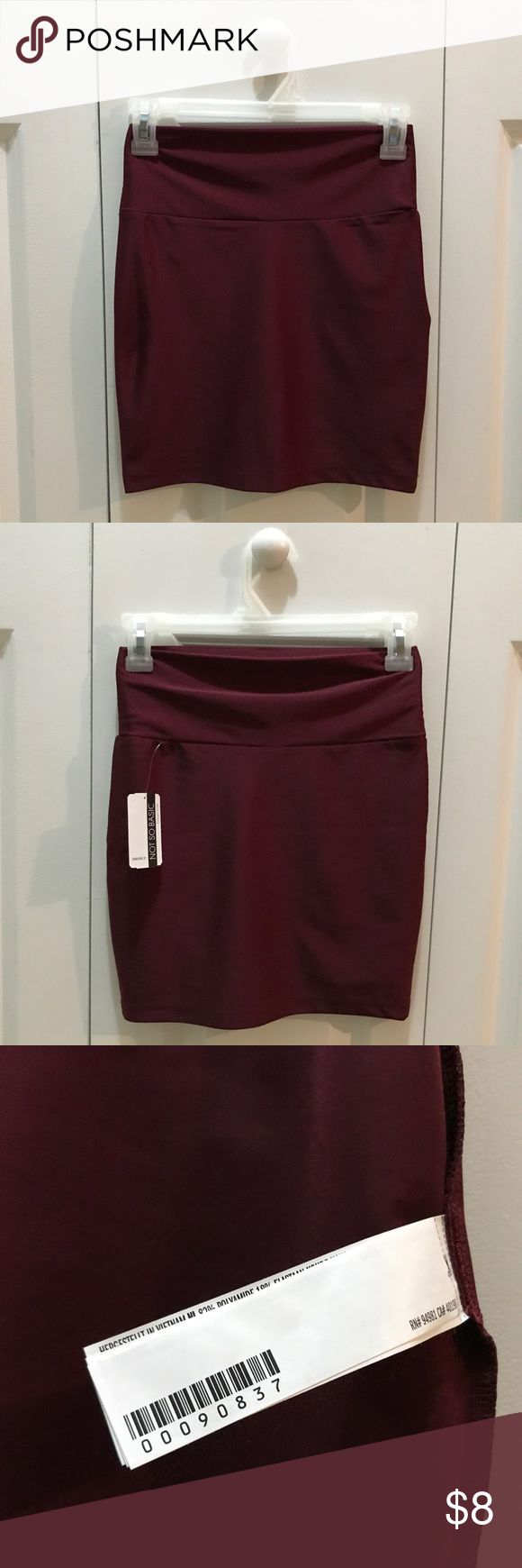 """NWT Forever 21 - Silk Burgundy Skirts! NWT Beautiful Forever 21 Silk Burgundy Skirts Size S! Materials Is 82% Nylon and 18% Spandex! 11"""" Waist! Front/Back Size From Waist To The Bottom Hem 15""""! Price Is Firm! Happy Poshing. Forever 21 Skirts Mini"""