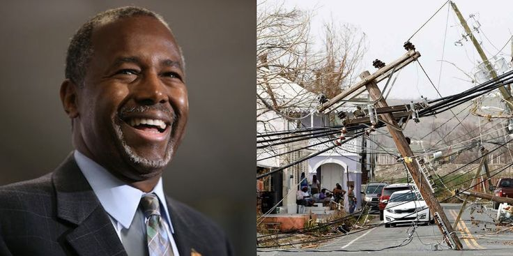 Ben Carson Just Made An Insensitive Joke About Puerto Rico Recovery Efforts