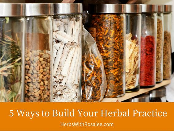 Over the years I've heard many herbalists complain that it's impossible to make money as an herbalist.   But I am proof that simply isn't true. I make a good living as an herbalist and my practice is easily filled with minimal marketing efforts. It's because I learned what it takes to be successful and then I made it happen.