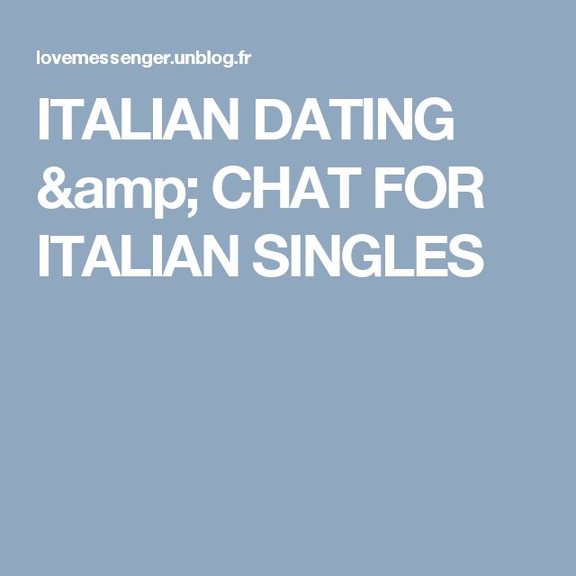 Online dating chat rules