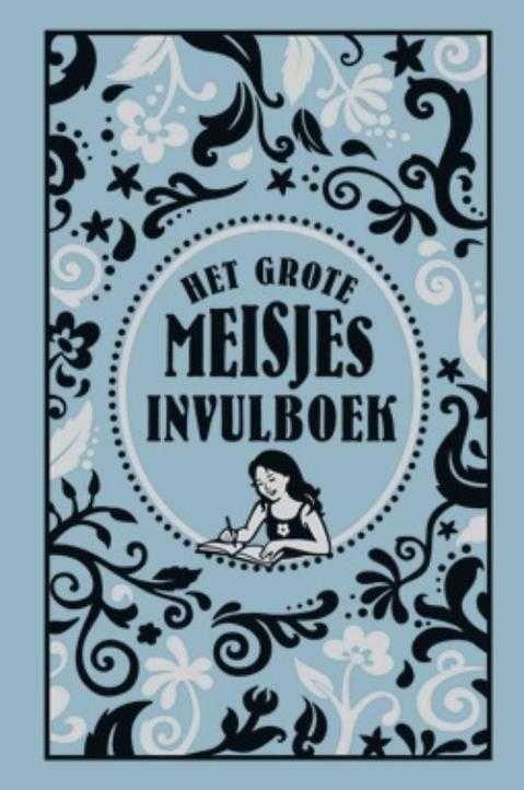 Het Grote Meisjes invulboek - Spotted on Milledoni