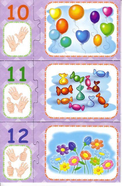 * Puzzelen, cijfers, vingers... 4-4