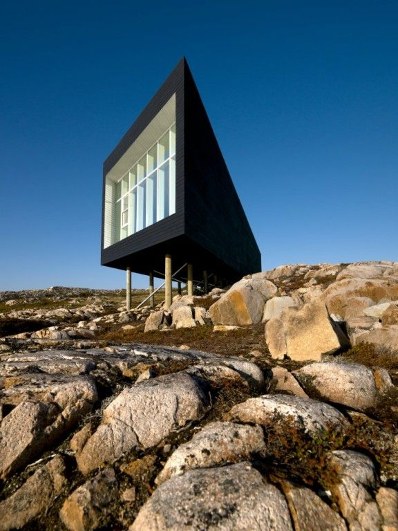 The Fogo Island Artist Studios / by Saunders Architecture. wow. via The Fox is Black #architecture