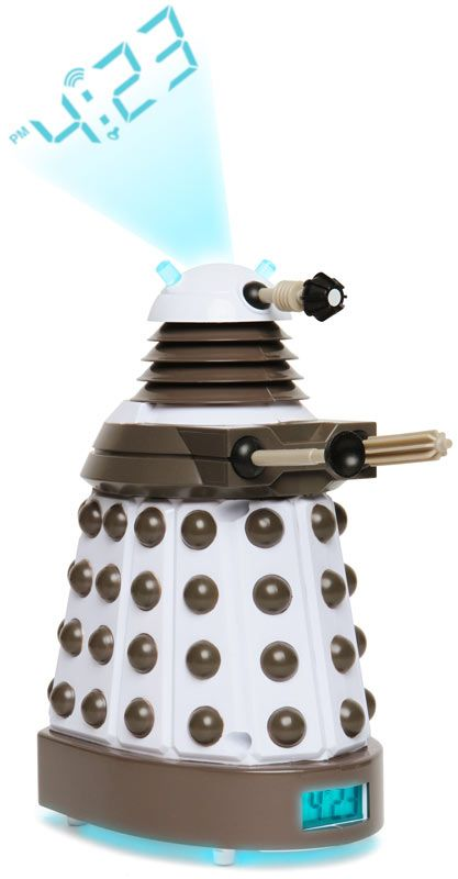 Doctor Who Dalek Projection Clock is One Part Awesome, One Part Horrific -  #clocks #dalek #drwho