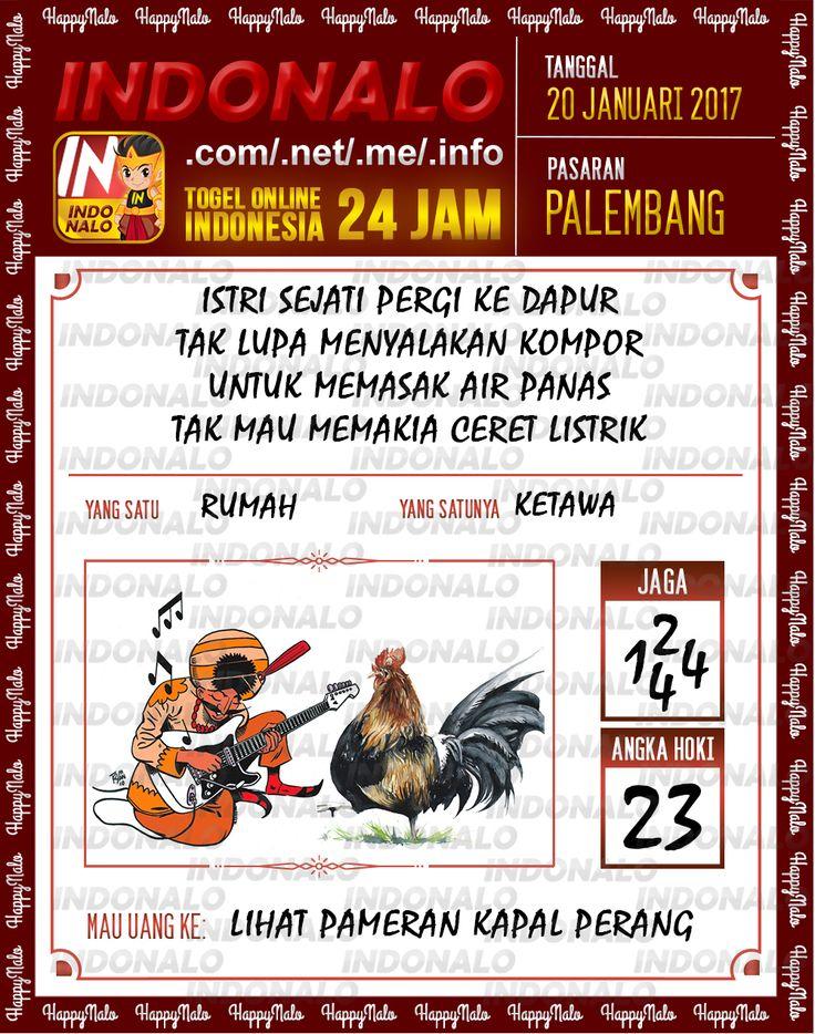 Nomer Hoki 4D Togel Wap Online Live Draw 4D Indonalo Palembang 20 Januari 2017