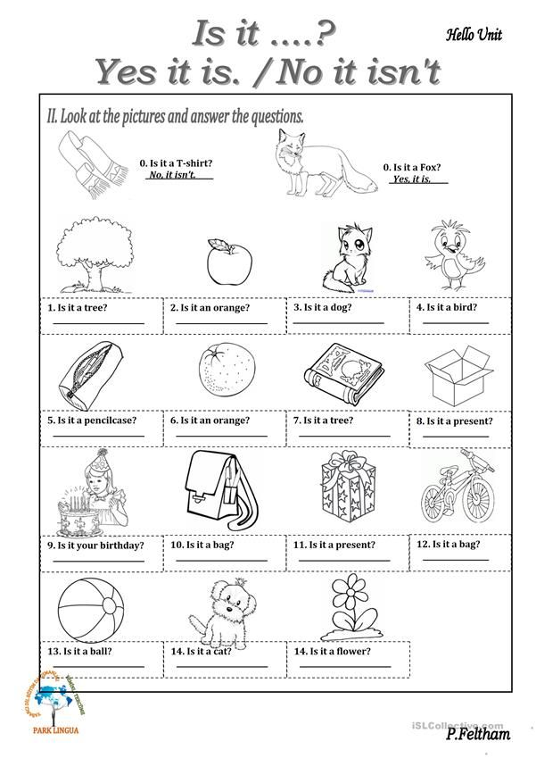 Verb To Be Is It Yes It Is No It Isn T English Esl Worksheets For Distance Learni In 2021 Verb To Be English Worksheets For Kids English Lessons For Kids Preschool esl worksheets pdf