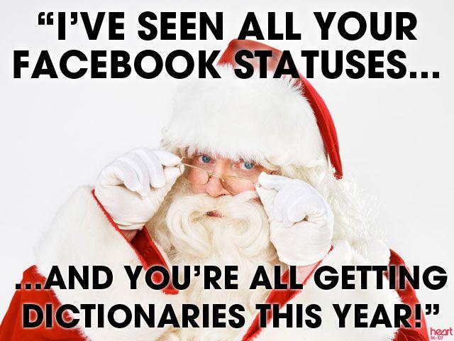 I've Seen All Your Facebook Statuses... I've seen all your Facebook statuses…  http://www.behind-the-scenes.co.za/ive-seen-all-your-facebook-statuses/
