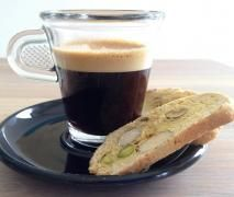 Orange and Lemon Biscotti with Pistachio and Almond {Thermomix}