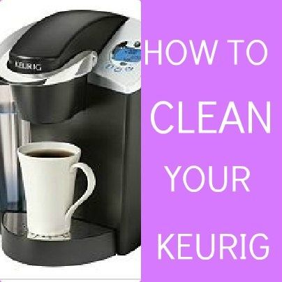 how to clean keurig rivo with vinegar