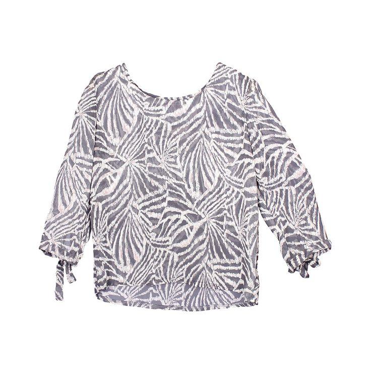 Blusa para uso diario y completan un buen outfit.
