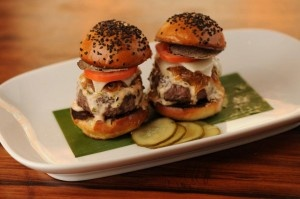 STK sliders. with extra truffles. NYC & LV.