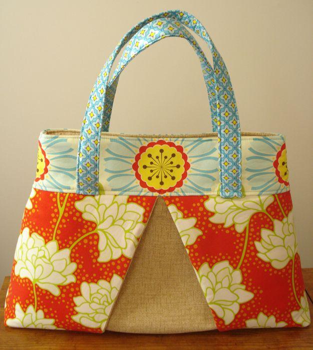 Sew Spoiled Weekender Travel Tote by Leah Williams - Free Pattern