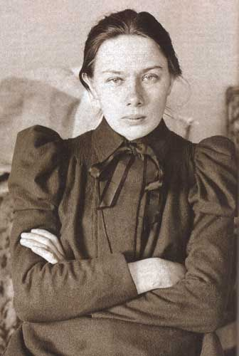 "Nadezhda Konstantinovna ""Nadya"" Krupskaya (1869–1939) was a Bolshevik revolutionary and politician. She married the Russian revolutionary leader Vladimir Lenin in 1898. She was deputy minister (Comissar) of Education in 1929–1939, Doctor of Education."