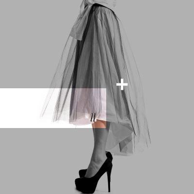 Asymmetrical tutu SKIRT #blackandWhite #tutu #black #white