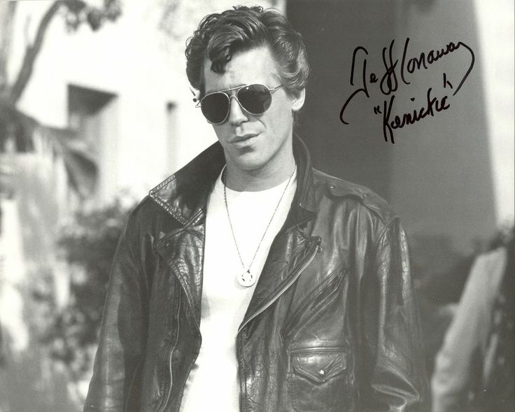 JEFF CONAWAY autographed photo as Kenickie from GREASE