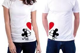 Resultado de imagen para camisas de novios enamorados