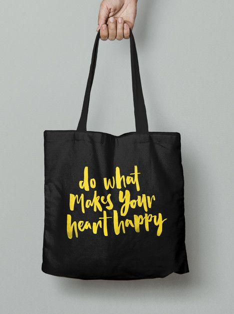 Tote Bag - Do what makes your heart happy
