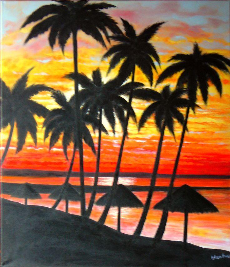"""Hawaiian Sunset"" by Eileen Frost"