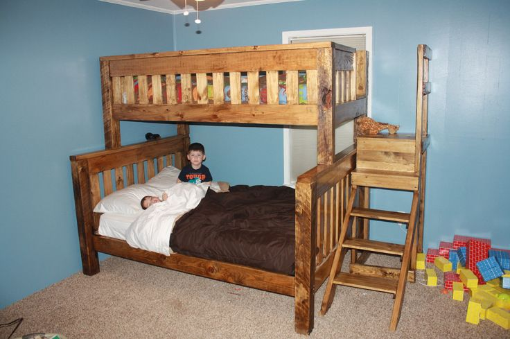 best 25 queen bunk beds ideas on pinterest bunk rooms rustic kids bedding and fun bunk beds. Black Bedroom Furniture Sets. Home Design Ideas