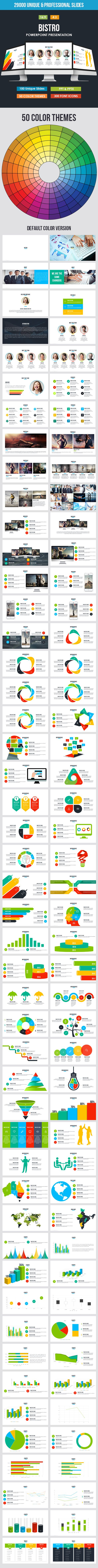 Bistro - Multi-purpose Powerpoint Template