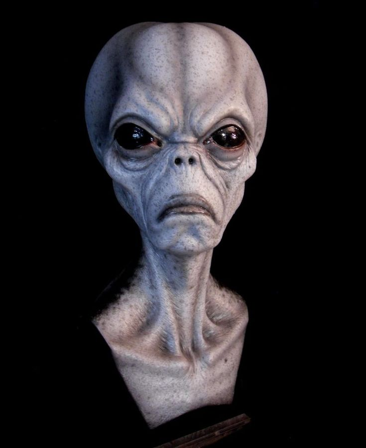 area 51 grey alien bust roswell ufo destroy all humans mars attacks from $139.95