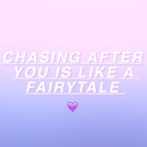 Chasing after you is like a fairytale | But I feel like I'm glued on tight to this carousel ~ Carousel, Melanie Martinez