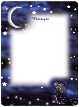 Celestial Fairy Memo Board - $12.99 - Perfect for a fairy-lover's locker or dorm room!